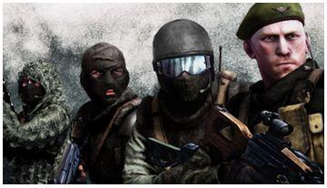 Battlefield Bad Company 2: Комплекты спецназа Россия