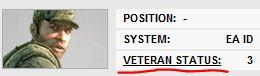 Статус ветерана