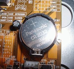 Батарейка в компьютере