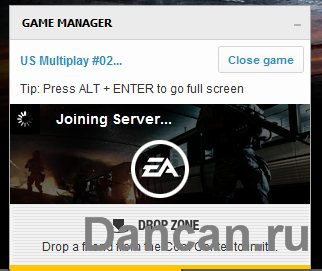 battlefield 3 open beta error joining server
