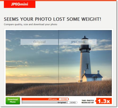 Сжимаем изображения с фотоаппарата для размещения в сети интернет