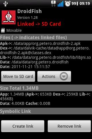 Как перенести любые приложения Android на флешкарту