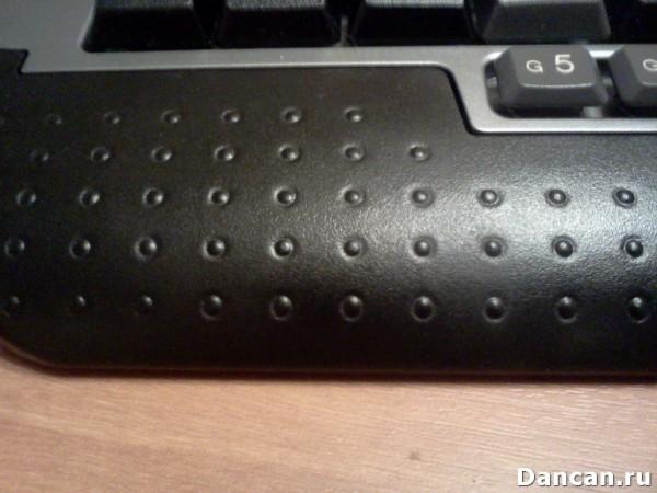 Прорезиненная подложка клавиатуры