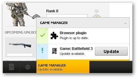 BattleField 3 update avalible